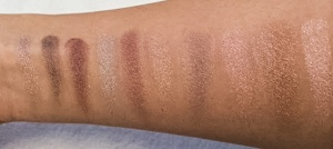 Limited Editon Bobbi Brown Sequin Shimmer Brick Swatches
