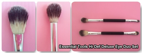 Essential Tools Hi-Def. Deluxe Eye Duo set, Walmart brush