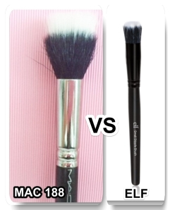 MAC 188, Elf stippling concealer brush