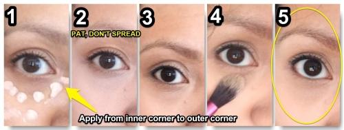 dark circles, coon eyes, concealer, makeup, beautysins