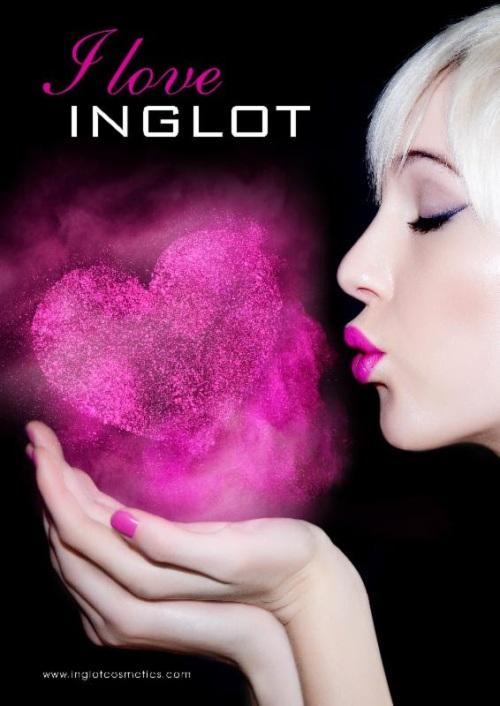 Inglot 2014, Valentine, Inglot flyer 2014,makeup