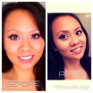 tinted brows, spa, beautysins