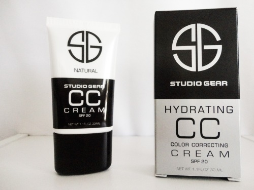studio gear, studio gear cc cream, studio gear cc cream natural, cc cream, makeup, skincare