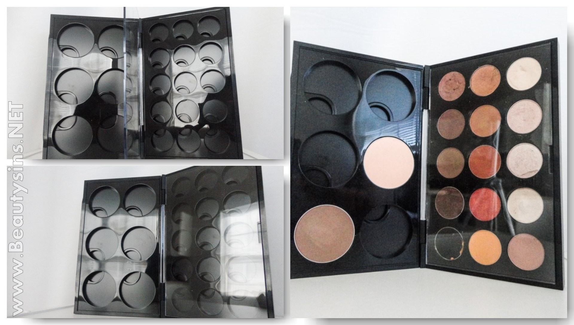Mac Cosmetics Palettes Blush Palette Eyeshadow Pro